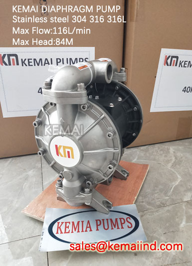 1 Inch Diaphragm Pump Stainless Steel 304 316 316L